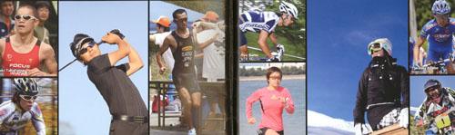 様々なスポーツとサングラス