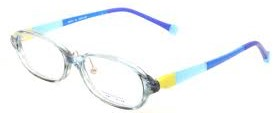 カラフルな子供用眼鏡フレームに仕上がりました。