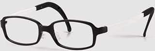 ジュニア眼鏡はお顔に合うサイズが選ぶことができるフレームです。