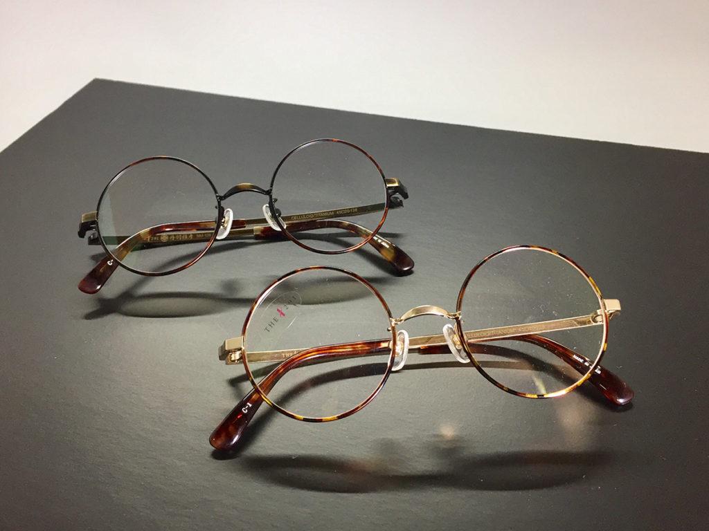 1つ1つの部品に情熱がこもった丸眼鏡枠です。