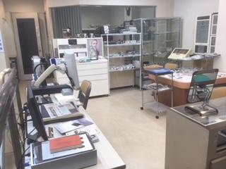 メガネのアマガンセンター店2階