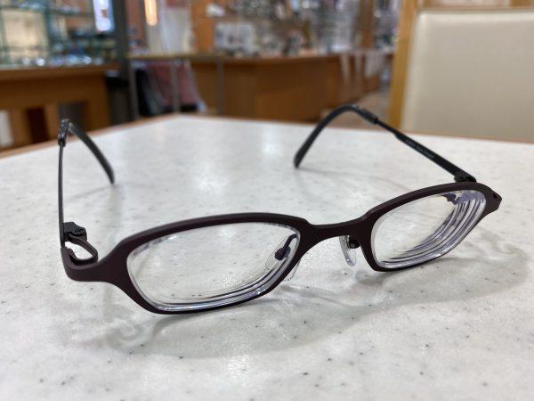 強度近視眼鏡ゼルパード実例