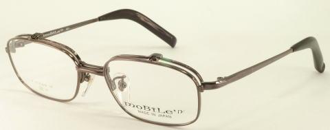 単式ワンブリッジハネアゲメガネ。オーソドックスなスタイルタイプ。