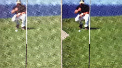 ゴルフどきのグリーン上のライン読みに跳ね上げサングラス偏光をお奨めです