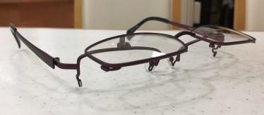 マグネット式跳ね上げメガネのご提案