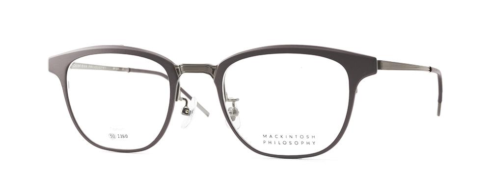 年寄りっぽいイメージがある跳ね上げ式眼鏡ですが、今、流行のデザインで仕上げることができました。