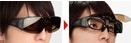 現在かけている眼鏡の上から掛けるハネアゲサングラスのご提案