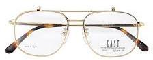 ハーフオート型の跳ね上げメガネ、度付きサングラスとしてご使用すれば便利。