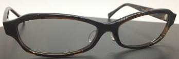 大きいメガネが似合うお顔立ちの方にお奨めのフレームです。