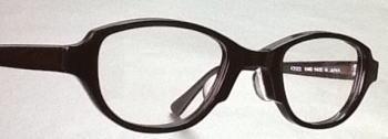 おしゃれなド近視眼鏡枠スペースキャット。