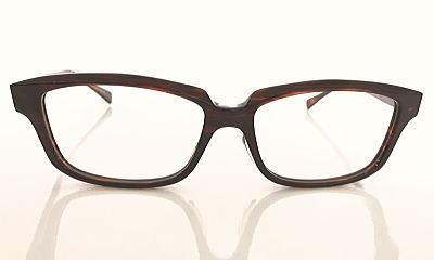 大きいメガネメガネフレーム、クロセルタイプ。