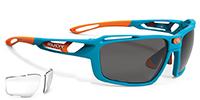 眼と顔を保護し、広い視界を手に入れるハイカーブスポーツサングラスSINTRYX シントリクスRUDY|フレームカラー:ズールグロス/レンズカラー:スモークブラック +クリア
