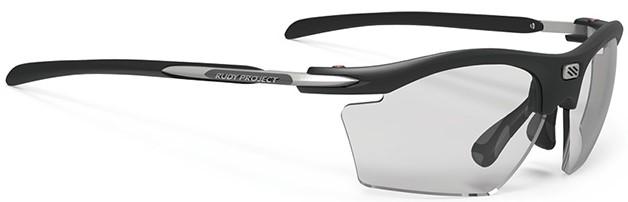 スポーツどきの有害な紫外線から眼を守る度入りスポーツサングラスRYDON SLIMルディ|フレームカラー:マットブラック/レンズカラー:調光インパクトX®2