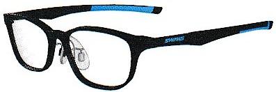 眼鏡を掛けている方の野球どきのお奨めのメガネフレームです。