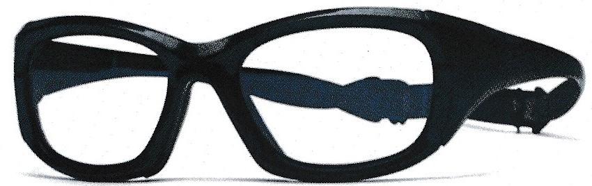 衝撃に強いサッカーどきの眼鏡フレーム。