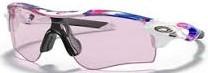 ランニングどきの度付きスポーツサングラスのおすすめは、オークリーレーダーロックパス|ココロ/レンズカラー:プリズムローライト