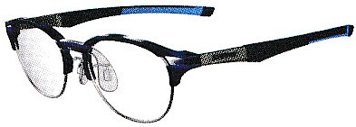 メガネを掛けている方々の野球どきと普段どきの兼用できる眼鏡です。