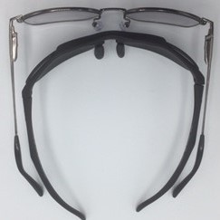 ハイカーブサングラスと普通サングラスの違い