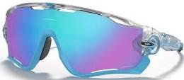 JAWBREAKER™OAKLEY一体眼の度付きサングラス|フレームカラー:Crystal Clearクリスタルクリア/レンズカラー:プリズムサファイアのご提案。