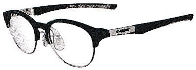 JBS004フレームは野球どきにもズレにくい普段使い兼用のメガネです。