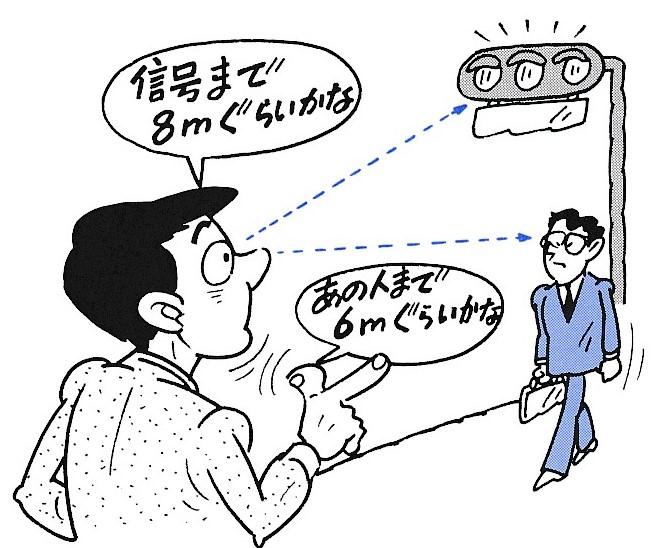 日常生活における深視力アップの練習方法。