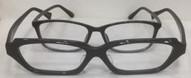 眼鏡フレームの大きさの違い。