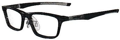 ふだんの眼鏡と野球時の眼鏡を1本で可能にしたメガネ。