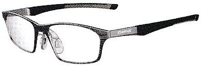 集中力を高める野球用眼鏡フレーム。