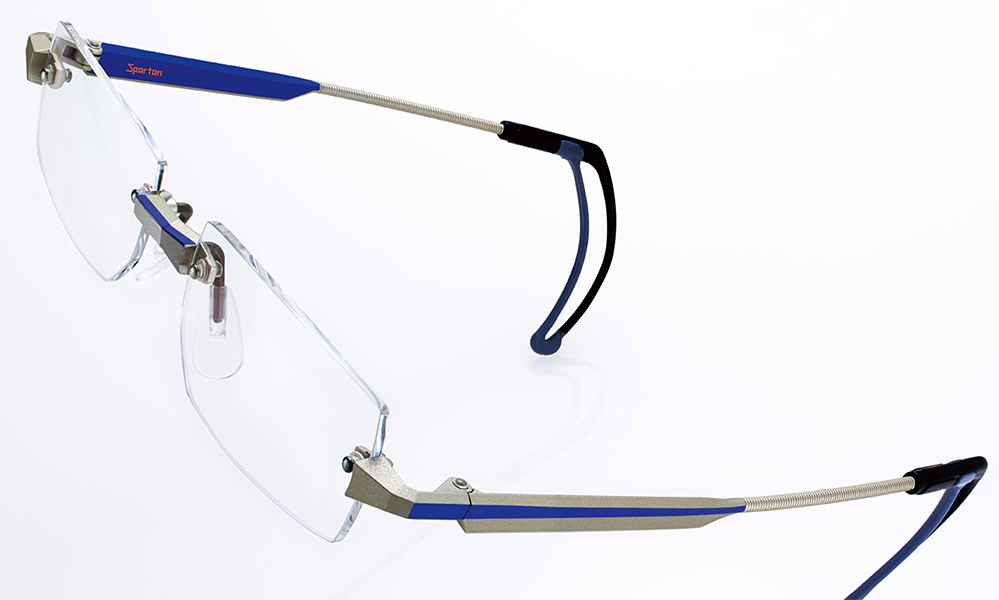 眼鏡を掛けて野球をされている方の理想の眼鏡アイメトリクス。