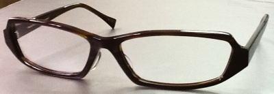 大きさに拘ったセル枠の眼鏡枠です。