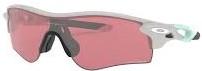人気のスポーツ用サングラス度入り一体型のおすすめオークリーサングラス(レーダーロックパス)|フレームカラー:クールグレイ/レンズカラー:プリズムダークゴルフ
