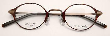 強度近視眼鏡枠ベンズコード