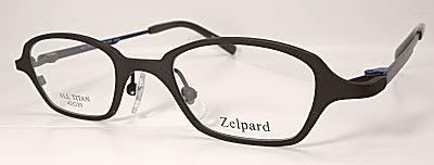 目を大きく見せる設計の強度近視眼鏡枠ゼルパード。