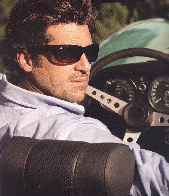 男性用ドライブサングラス