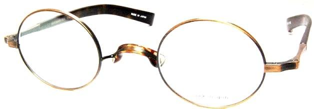 ヴィンテージデザインの強度近視メガネフレーム