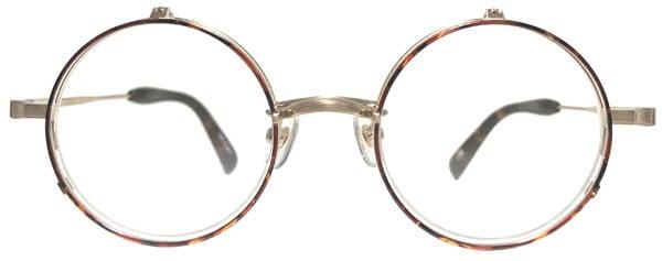 丸型複式メガネ
