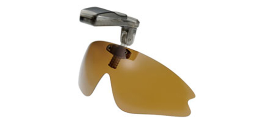 跳ね上げ式帽子取付サングラスPBC0-5B