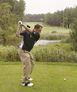 ゴルフ用サングラスでナイスショット