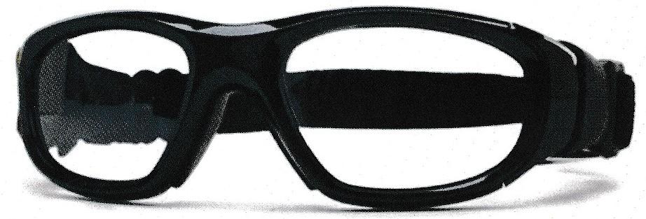 フットサル時の保護眼鏡