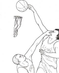 スポーツの中でもバスケットボールは眼に危険