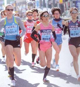 マラソンどきのサングラスは集中力を高める