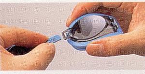 トライアスロン時の度付きスイミングゴーグル取り付け方