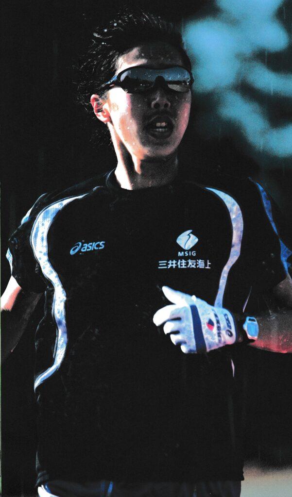 マラソンどきのスポーツ用サングラスは集中力を高める