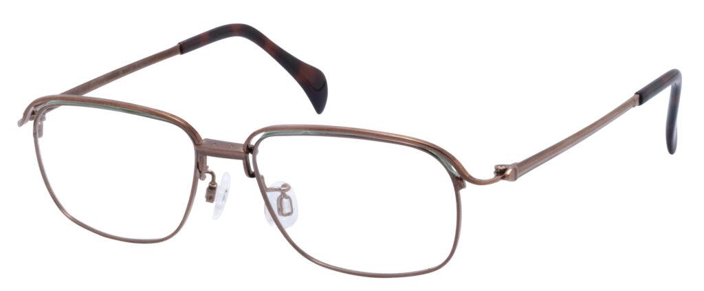 跳ね上げメガネの高級品マルマン