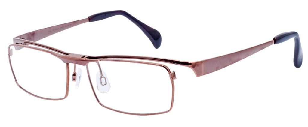 跳ね上げメガネの高級品マルマンT1291