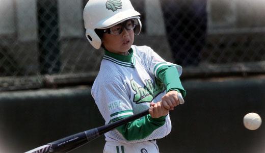 野球どきの動体視力は大切