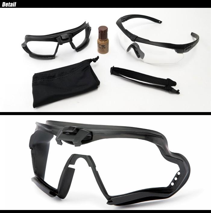 バドミントンどきの保護眼鏡
