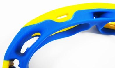 バドミントン保護眼鏡の特徴フェイスパッド
