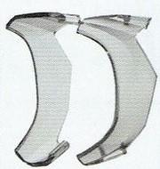サイドフード付きメガネフレーム