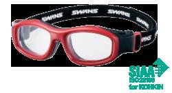 スカッシュ&ラケットボールどきの保護眼鏡